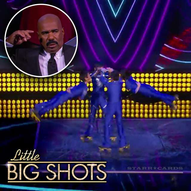 Shenyang Youth Troupe roller skates to Bruno Mars on 'Little Big Shots'