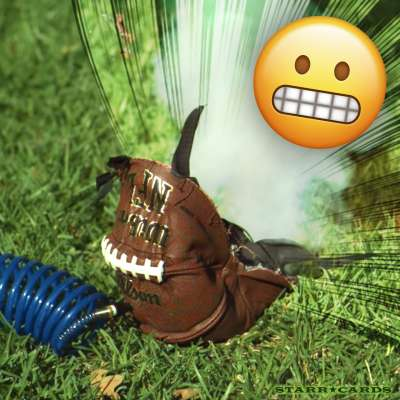 Slow Mo Guys explode Wilson NFL football