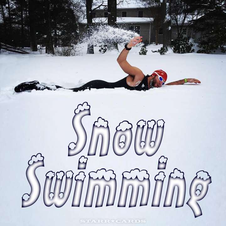 Snow Swimming: Coming to a Winter Olympics near you