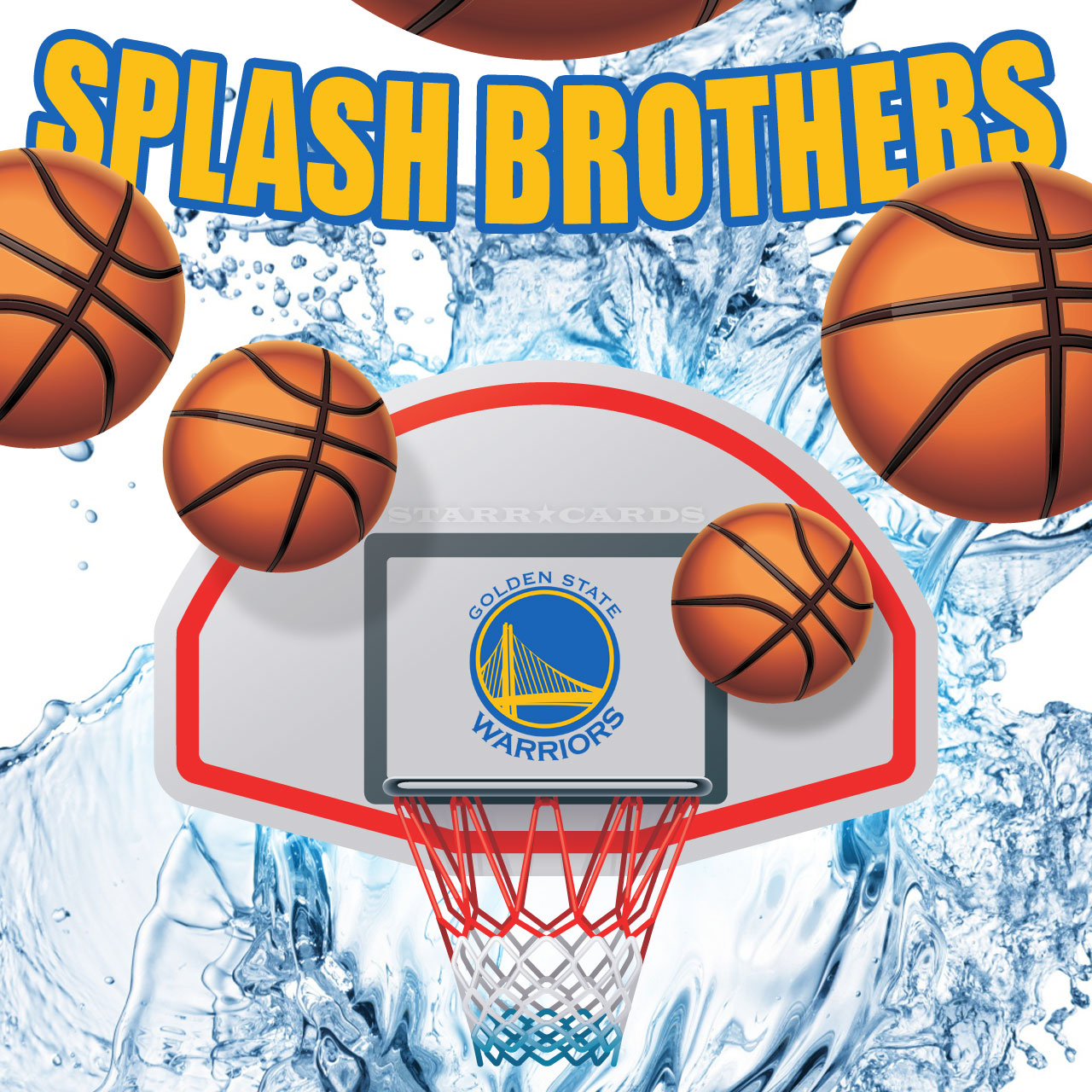 Splash Brothers rain 3-pointers for Golden State Warriors