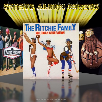 Sports album covers