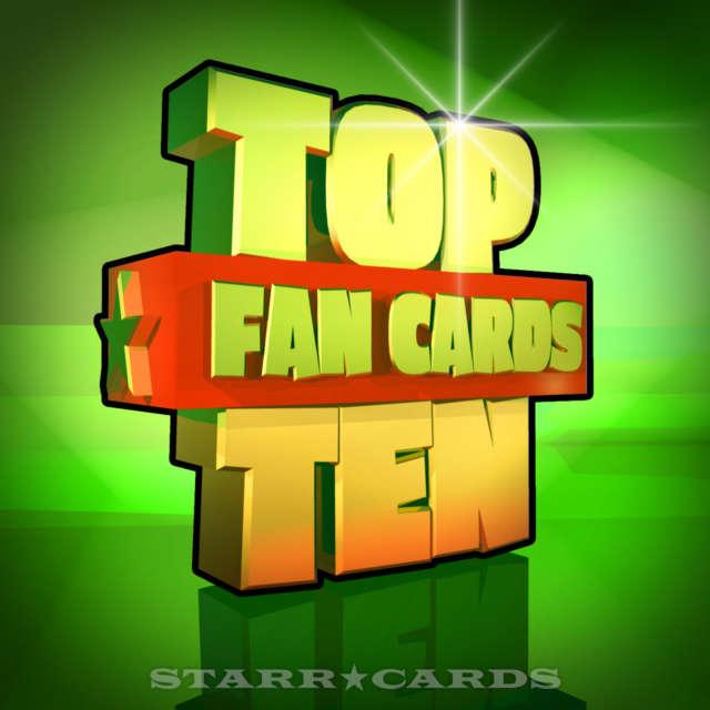Starr Cards Top Ten Fan Cards 06