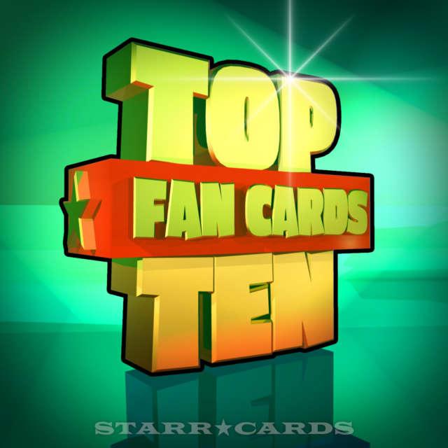 Starr Cards Top Ten Fan Cards 08