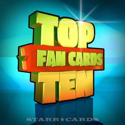 Starr Cards Top Ten Fan Cards 09