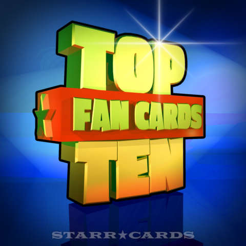 Starr Cards Top Ten Fan Cards 10
