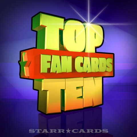 Starr Cards Top Ten Fan Cards 11