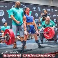 Stefi Cohen demonstrates world-champion sumo deadlift form