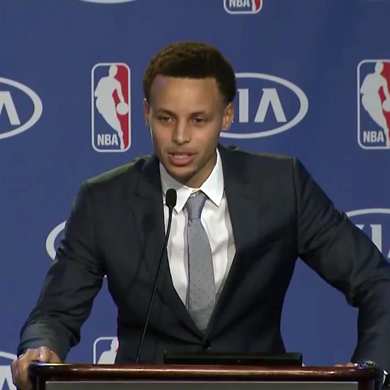 James Harden Mvp Speech: Stephen Curry Gives Props To Nana And Pops In MVP Speech