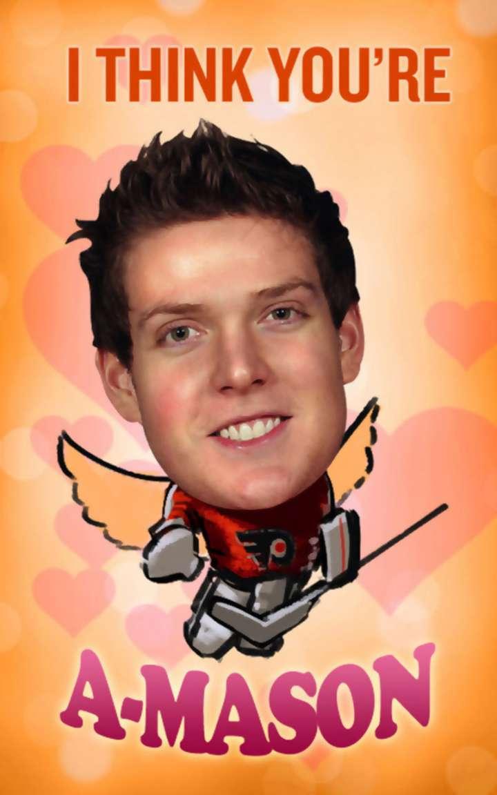 Steve Mason Valentine's Day card