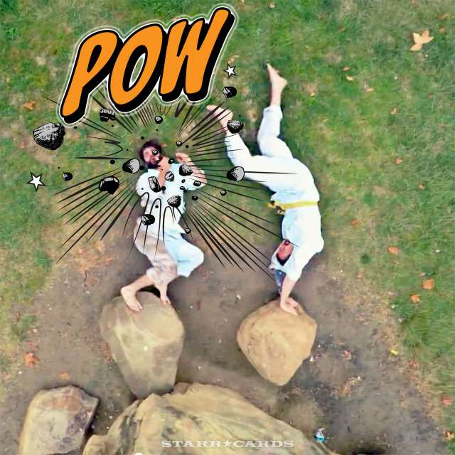 Stop motion karate made with GoPro