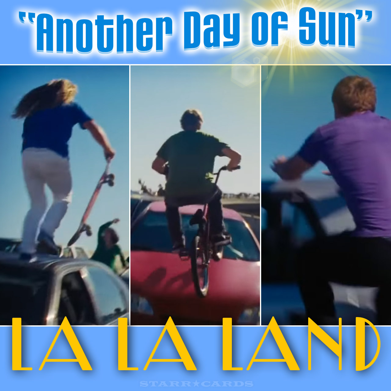 Meet The Skater Bmxer And Freerunner In Opening Scene From La La Land