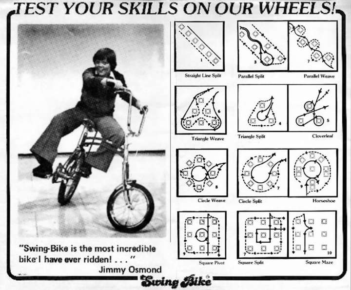 Swing Bike Rodeo with Jimmy Osmond