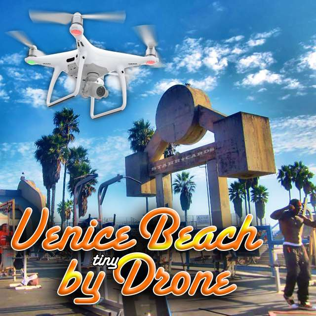 Take a tour of Venice Beach Recreation Center by GoPro outfitted tiny drone