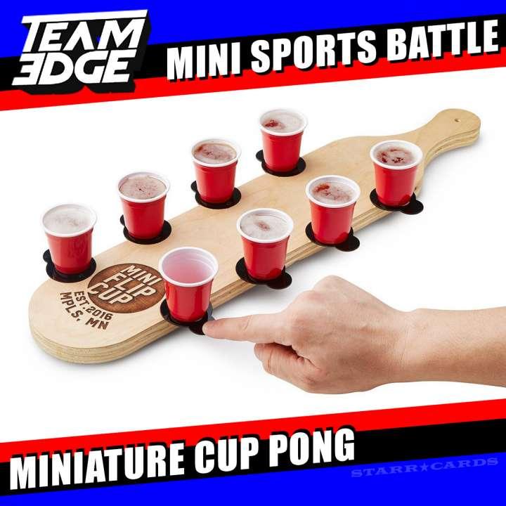 Team Edge Mini Sports Battle: Miniature Cup Pong