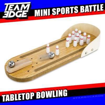 Team Edge Mini Sports Battle: Tabletop Bowling