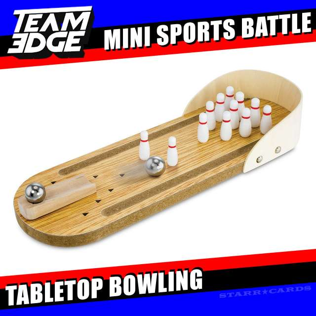 Team Edge Mini Sports Battle: Tabletop Bowling