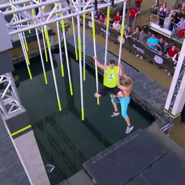 Team Ninja Warrior: Nicholas Coolridge vs Joe Moravsky showdown