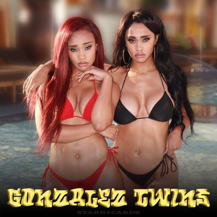 The Gonzalez Twins heat up the internet whether playing basketball or taking a dip in the pool