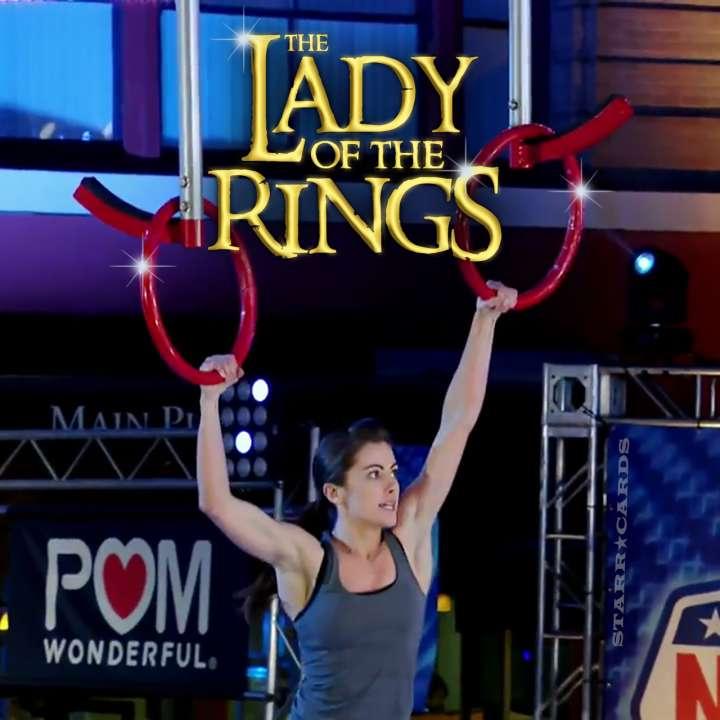 The Lady of the Rings: Kacy Catazaro shines at 'American Ninja Warrior' San Antonio City Finals