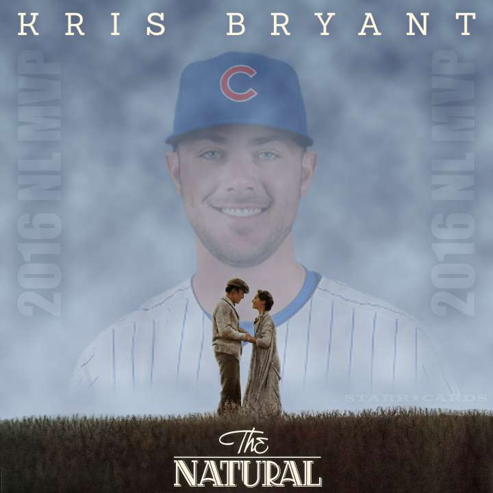The Natural: 2016 NL MVP Chicago Cubs third baseman Kris Bryant
