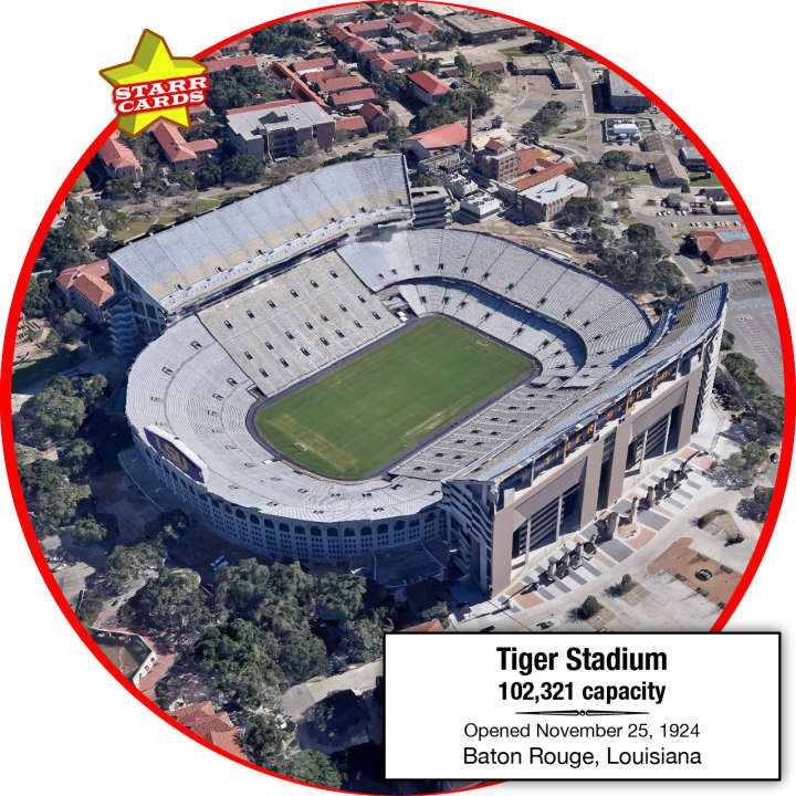 Tiger Stadium, Baton Rouge, Louisiana: Home to the LSU Tigers