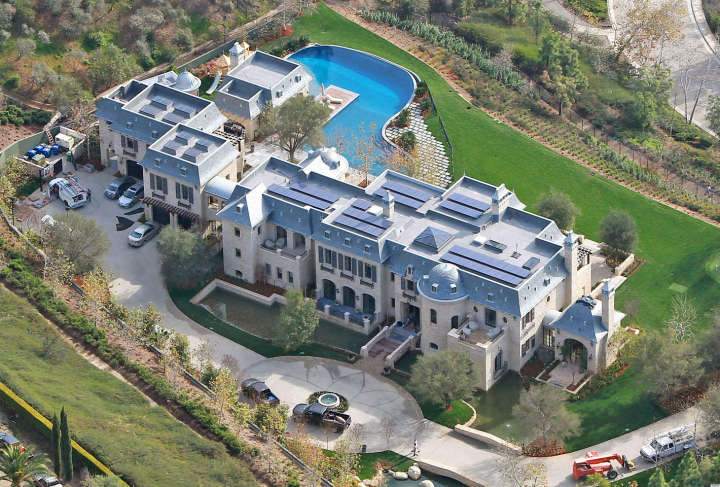 Tom Brady's Los Angeles mansion