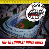 Top 10 longest home runs in MLB history