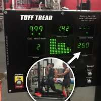 Treadmill speedster George Alexandris hits 26 miles per hour