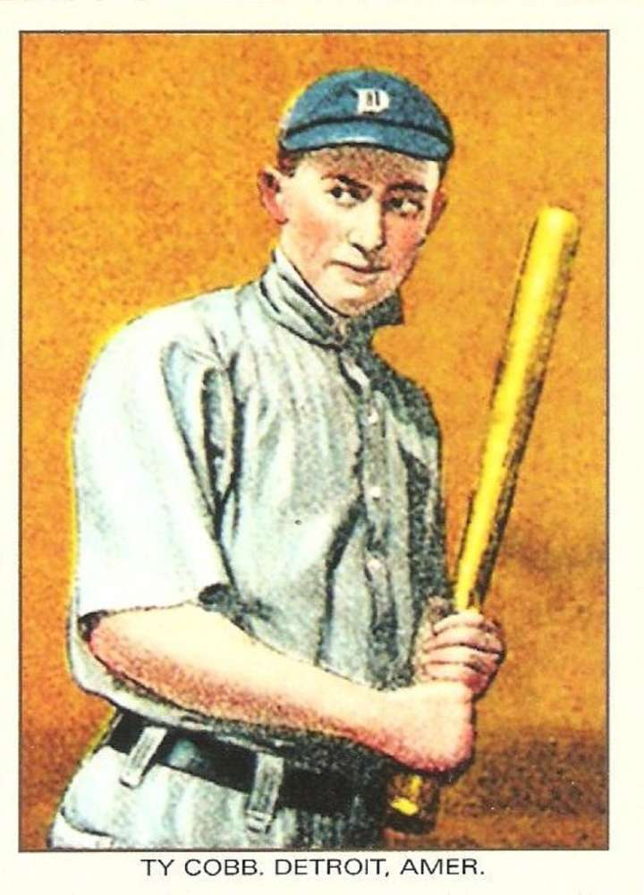 Ty Cobb, 1911 General Baking Co. baseball card