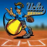 UCLA softball pitcher Selina Ta'amilo struts her stuff