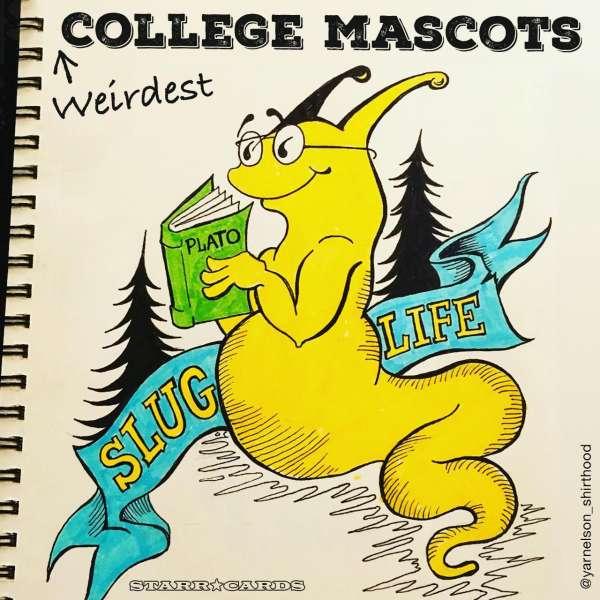 UCSC's Sammy the Slug and Weirdest College Mascots