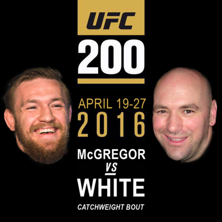 UFC 200 Catchweight Bout: Conor McGregor vs Dan White