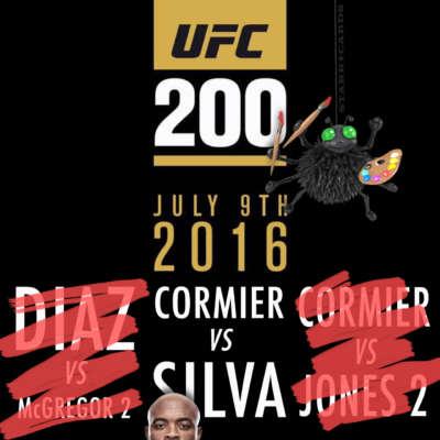UFC 200: Daniel Cormier vs Anderson Silva