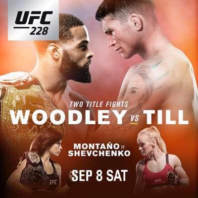 UFC 228 Tyron Woodley vs Darren Till