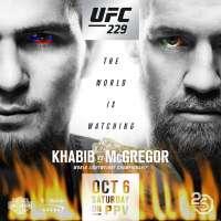 UFC 229 Khabib Nurmagomedov vs Conor McGregor