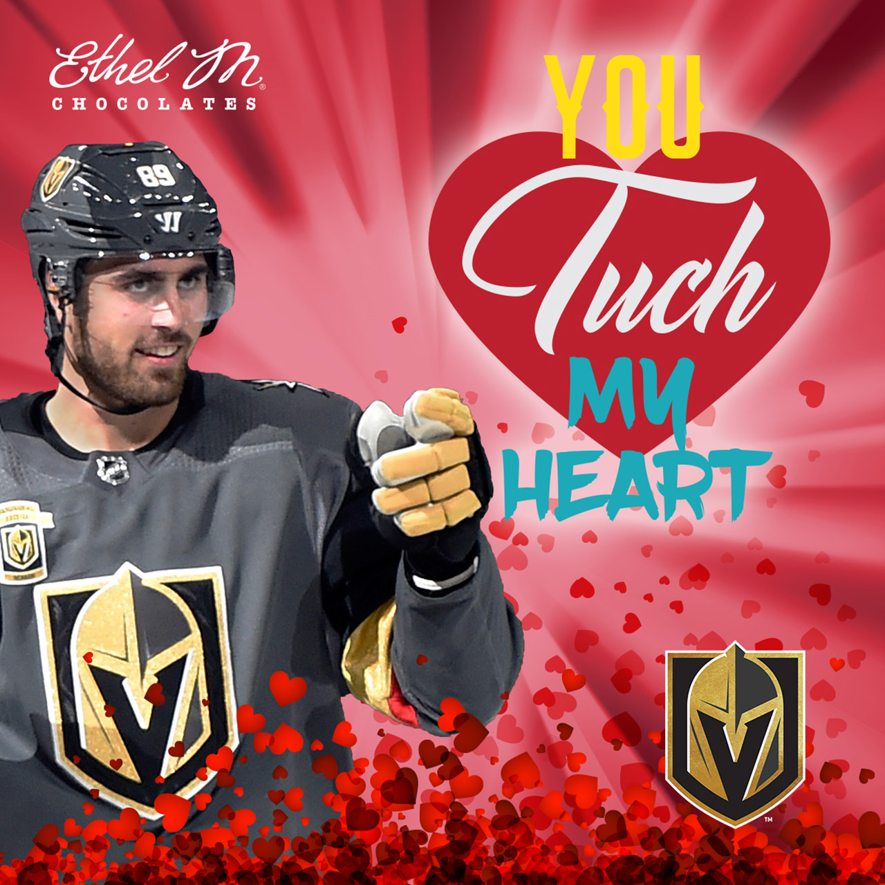 nhl valentine s day cards are cheesy enough to melt the iciest of hearts