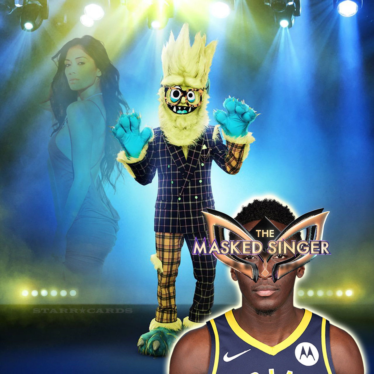 Victor Oladipo shows off All-Star vocals as Thingamajig on 'The Masked Singer'