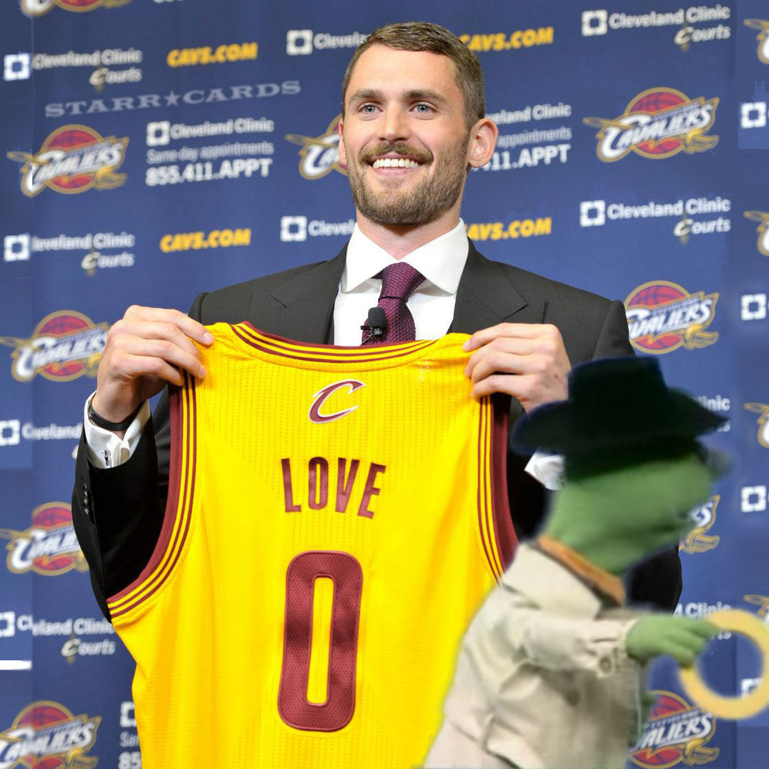 """Was Kevin Love suckered into buying an """"O""""?"""