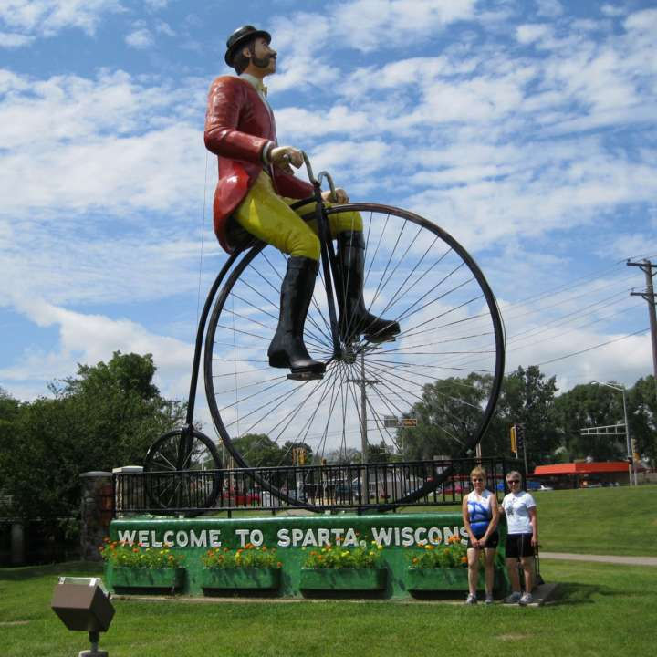 Welcome to Sparta, Wisconsin: Bicycling Capital of America