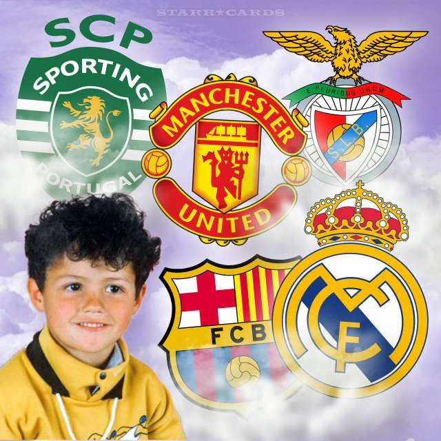 What was Cristiano Ronaldo's favorite team as a kid?