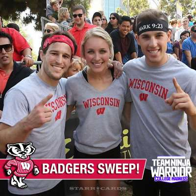Wisconsin Badgers reign supreme at 'Team Ninja Warrior: College Madness' championship