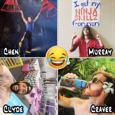 Yen Chen, Jake Murray, Edward Clyde, Neil Craver make funniest 'American Ninja Warrior' submission videos