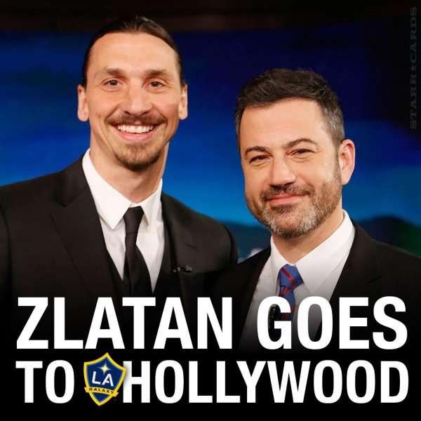 Zlatan Ibrahimović Goes to Hollywood