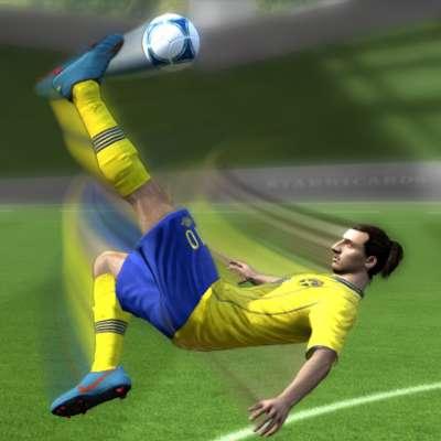 Zlatan Ibrahimovic's favorite goal was his bicycle kick vs England